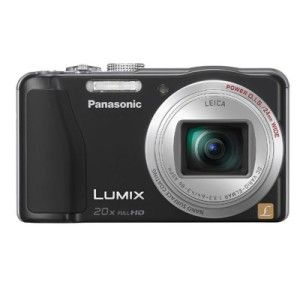 LUMIX ZS19 Digital Camera bundle 4GB SDHC Card & Panasonic Camera Case