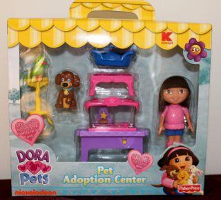 New Dora The Explorer Pet Adoption Center Doll House Furniture