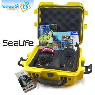 SeaLife DC1400 Digital Camera Kit with Watertight Travel Case   Free