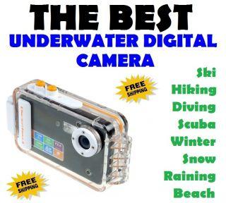 Digital Camera Underwater Waterproof Housing Under Water Resistant 12