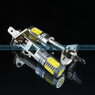 5W H1 H3 6500K White LED Bulbfog Driving Lights Bulb Lamp New