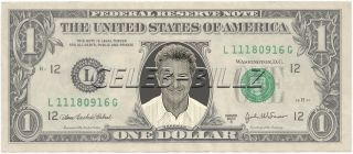 Dustin Hoffman Dollar Bill Mint Real $$ Celebrity Novelty Collectible