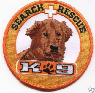 Search Rescue K9 Sar Dogs Dog Patch Beautiful Detail