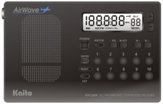 Kaito KA12AIR is a digital radio with Aviation band coverage plus FM