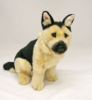 German Shepherd Dog Plush Toy Stuffed Animal 11 28cm New Sargeant