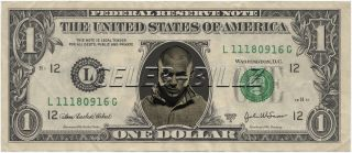 Pitbull Dollar Bill Real ! Celebrity Novelty Collectible Money