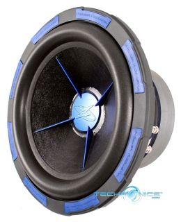 MOFO 12 1500W RMS COMPONENT DUAL VOICE COIL CAR AUDIO SUBWOOFER