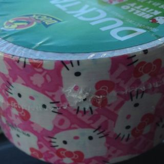 Duck Brand Colored Duct Tape Hello Kitty Duck Tape Pink White Kitties