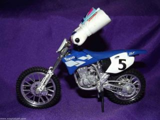 Finger Wheels Yamaha Dirt Bike Toy
