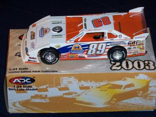 24 Scale Steve Barnett Diecast Dirt Late Model