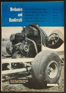 1949 Micromidget Dirt Track Racing Vintage Pictorial Race Car