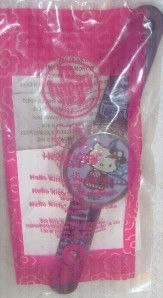mc donald s 2008 hello kitty watch purple fairy