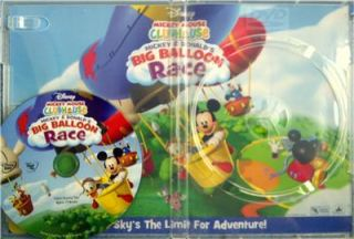 Mickey Mouse Clubhouse Donalds Big Balloon Race DVD