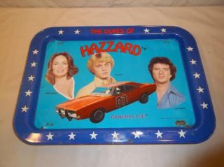 1981 Vintage Original Dukes of Hazzard Daisy Duke TV Tray