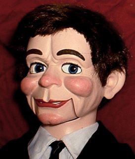 Haunted Ventriloquist Doll Eyes Follow You Dummy Puppet Magic Fats