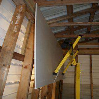 New Commercial Grade 11  Drywall Lift Foot Sheet Rock Hoist Panel
