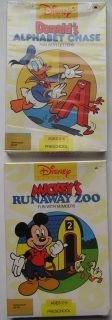 Disney Software Commodore 64 Mickey Mouse Donald Duck G