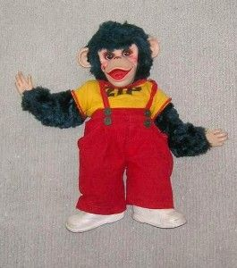 Zippy The Monkey Rushton Co 15 Doll Howdy Doody Rubber Face