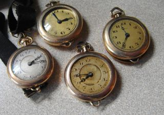 Antique Gold Filled Ladies Swiss Watches for Repair