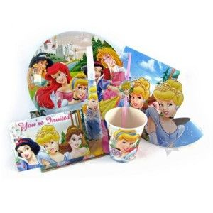 disney princess party supplies 72 piece party pack