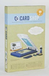 Provo Craft Cricut Yudu Personal Card Shop Screen Printing Machine Set