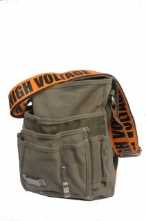 Ducti High Voltage Heavy Duty Canvas Utility Messenger Bag 10308OE