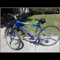 Magna Great Divide 26 21 Speed Mens Mountain Bike Blue