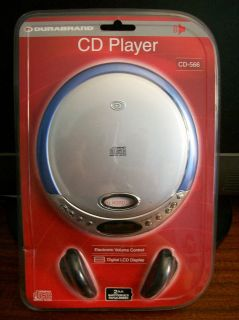 Durabrand Programmable Compact Disc Player Model CD 566 with
