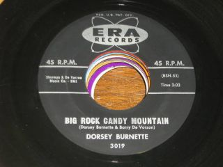 Dorsey Burnette 60s Pop Rock 45 Big Rock Candy Mountain