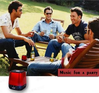 Doss Bluetooth Wireless Mini Bass Asate Speaker Radio for iPhone 5