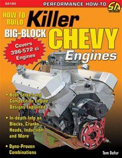 SA Design How to Build Killer Big Block Chevy Engine SA190