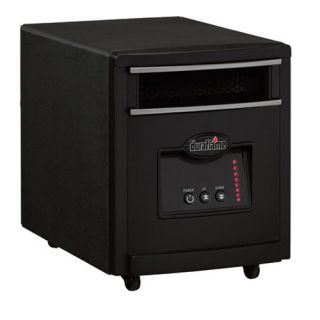 DURAFLAME 8HM1500 Mighty Portable Infrared Electric Heater Purifier