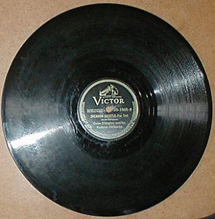 DUKE ELLINGTON vintage jazz 78 rpm record Victor 20 1505 Hayfoot