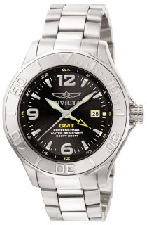 New 6330 Invicta Men Watch Stainless Steel Band Stainless Steel Case