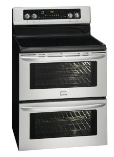 inch Stainless Double Oven Electric Symmetry Range FGEF306TMF
