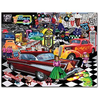 NEW Doo Wop Collage Classic Jigsaw Puzzle Essence of the 1950s 1000