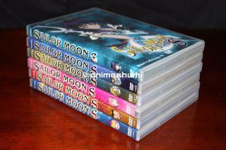 Sailor Moon S Uncut Vol. 1,2,3,4,5,6 Complete Anime DVD Set R1 Geneon
