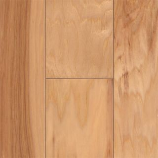 Smooth Natural Hickory Hardwood Flooring Wood Floor