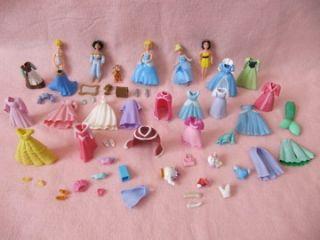 Fashion Polly Pocket Disney Princess Dolls Snow White Cinderella