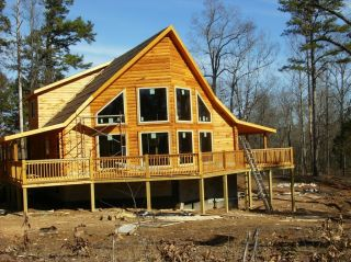 The View Log Cabin Home Kit Package
