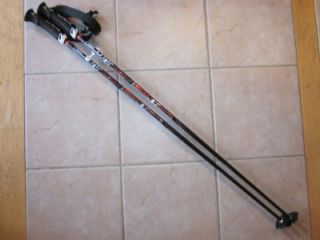 Scott 2009 PRO TAPER Carbon downhill ski poles Red   44 Reg$110 NEW