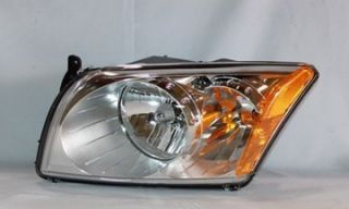 2007 2011 Dodge Caliber Head Light Lamp Headlight LH Driver New