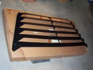 Mopar 1980s Dodge Colt GTS Rear Window Shades Louvers Hinged 4318401