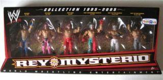 WWE Rey Mysterio Tru Exclusive 6 Pack Action Figures