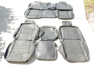 Dodge Ram Crew Cab Leather Seat Covers Interior Seats 2009 2010 2011