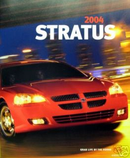 2004 Dodge Stratus Coupe Sedan New Vehicle Brochure