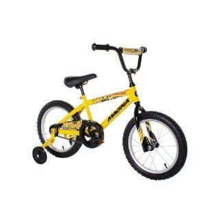 Dynacraft Magna Major Damage Boys Bike (16 Inch, Yellow/Black)