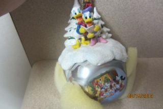 Mickey Mouse Christmas Sleigh Bell Ornament Collection Ashton Drake