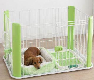 Pet Play Pen Puppy / Dog Playpen w/ pet bed & Water bottle