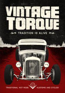 VINTAGE TORQUE 7 DVD TRADITIONAL CARS & ART HOT RAT ROD CUSTOM CULTURE